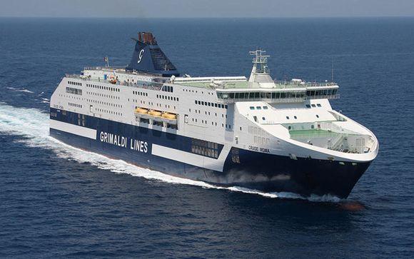 Raggiungete il vostro Resort utilizzando i servizi di Grimaldi Lines