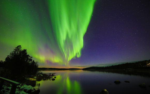 Aurora Boreale e Natura