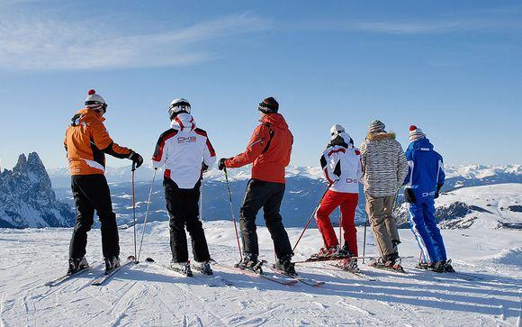 Area sciistica Val Gardena-Alpe di Siusi e del Dolomiti Superski