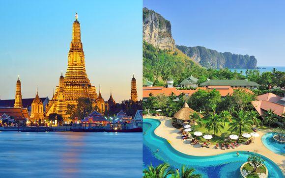 Ramada Plaza Menam Riverside 5* & Ao Nang Villa Resort Krabi 4*