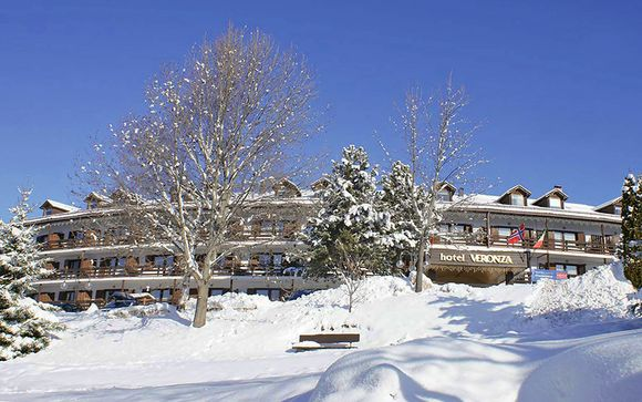 La magia dell'inverno in Family Resort nei pressi di Cavalese