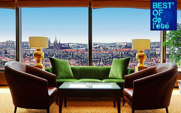 Elegante hotel 5* con vista panoramica sulla città