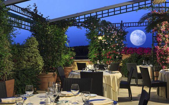 Romantico 4* con terrazza e vista panoramica su Roma