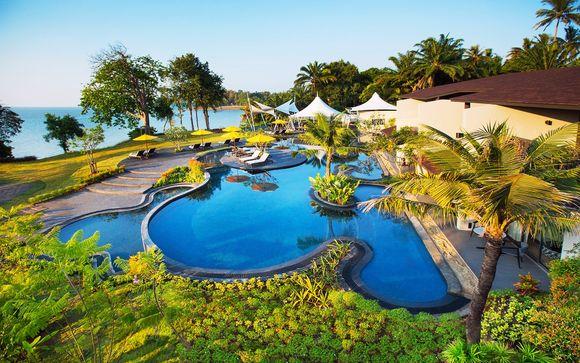 The Shellsea Krabi 5* con possibilità di soggiorno iniziale a Bangkok al Pathumwan Princess Hotel 5*