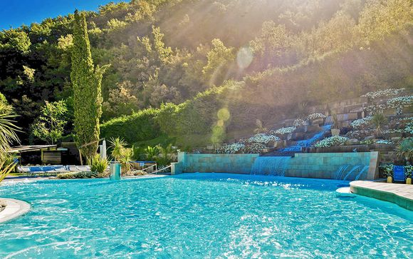 Elegante wellness resort 4* con piscine termali