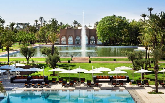 Hotel Pullman Marrakech Palmeraie Resort and Spa 5*