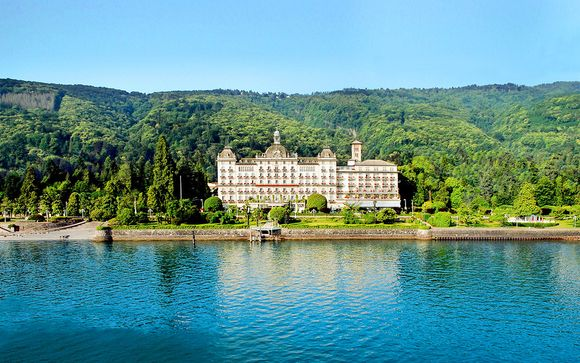 Elegante 5*L con spa sulle rive del Lago Maggiore