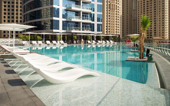 Lusso e vita mondana in 5* nel cuore di Dubai Marina