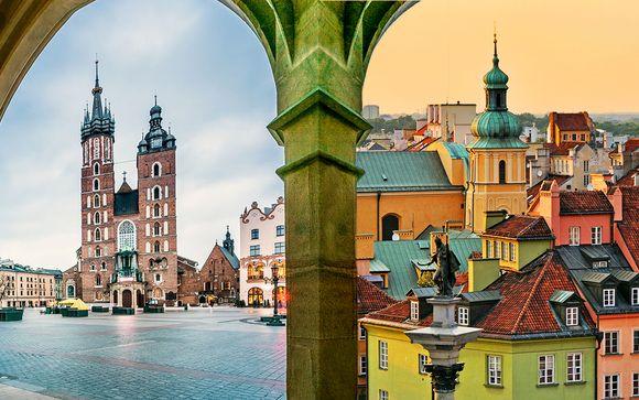 Tour in treno Cracovia & Varsavia