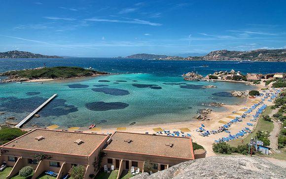 Pensione completa in 4* sull'isola privata di Santo Stefano