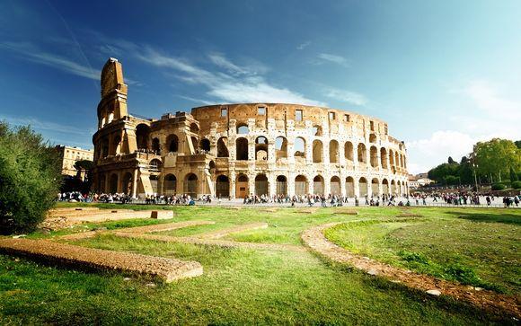 Camere dallo stile classico a pochi metri dal Colosseo