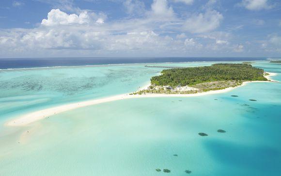 La meraviglia delle Maldive tra comfort e relax in resort 4*S