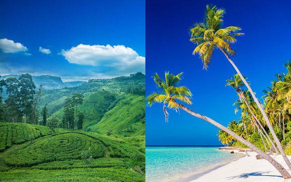 Affascinante Sri Lanka e relax su un atollo paradisiaco