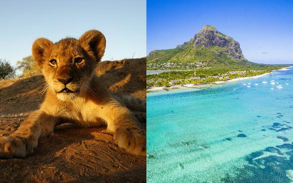 Safari mozzafiato nella savana e soggiorno mare a 4*