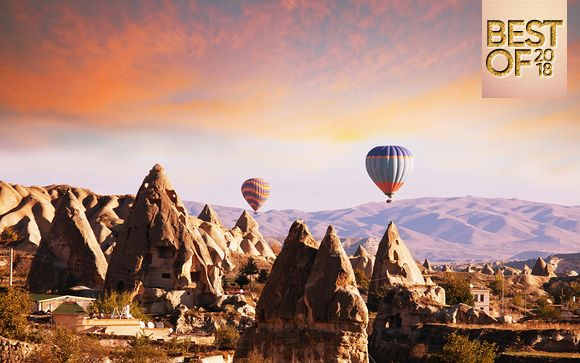 Tesori della Turchia in tour a 5*: tra Istanbul e la Cappadocia