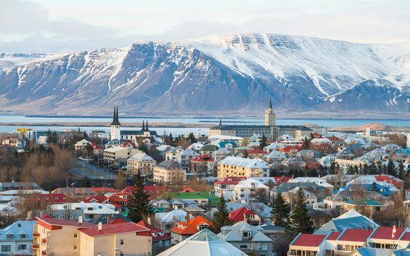 Hilton Reykjavik Nordica 4* con escursioni