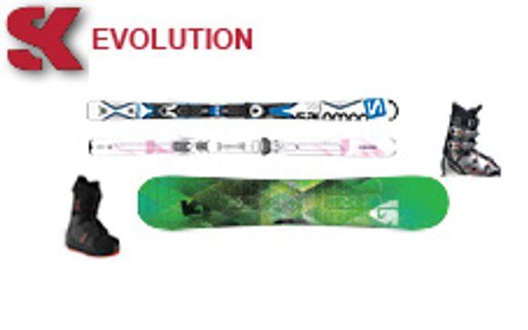 Noleggio attrezzatura da sci
