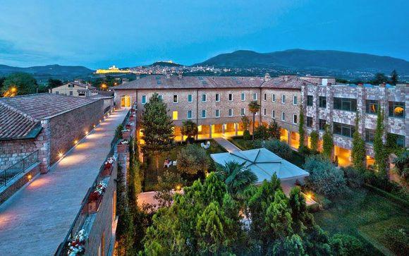 Hotel Cenacolo Assisi 4*
