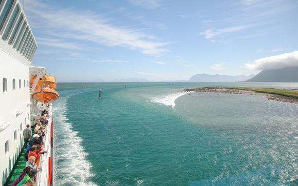 La costa norvegese in navigazione verso Sud