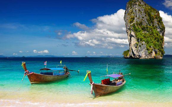 Mandarin Hotel By Centrepoint Bangkok 4* + Dream Phuket Hotel & Spa 5*