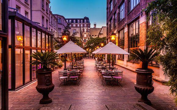 4* chic e romantico con Spa nel cuore di Marais