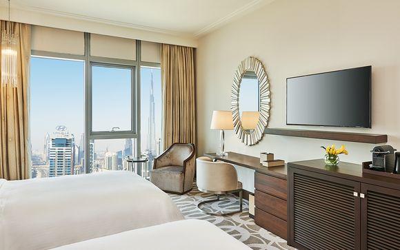 Lussuoso 5* con spa e vista panoramica sul centro di Dubai