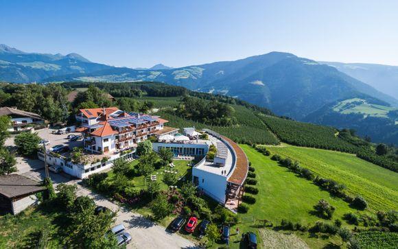 Benessere e gusto alle porte delle Dolomiti
