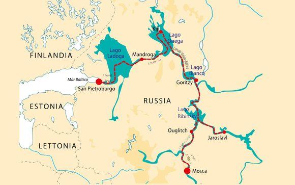 Crociera Fluviale da Mosca a San Pietroburgo - San