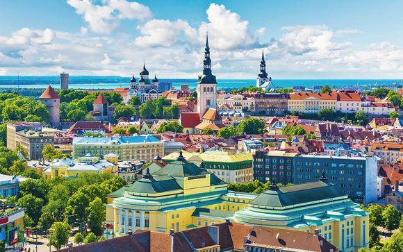 Stoccolma, Riga, Tallin, Helsinki, Turku e la Regione dell'Arcipelago