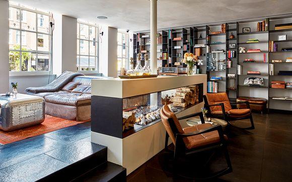 Boutique hotel di lusso e design nel quartiere latino De Pijp