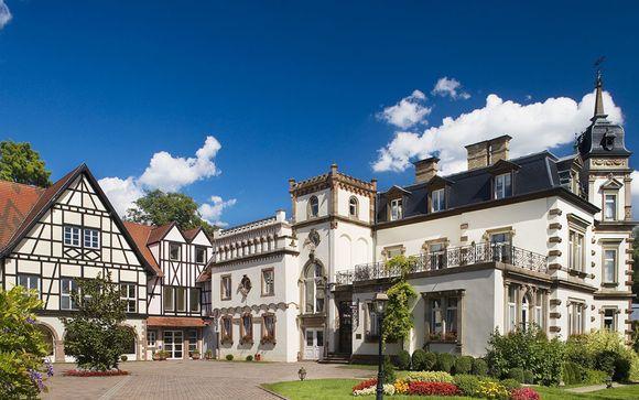 Castello di charme con parco sulla Strada dei Vini alsaziana