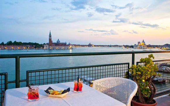 Romantico 4* con terrazza panoramica in Riva degli Schiavoni
