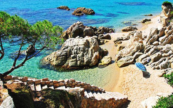 4* con spa a due passi dalle spiagge di Tossa del Mar