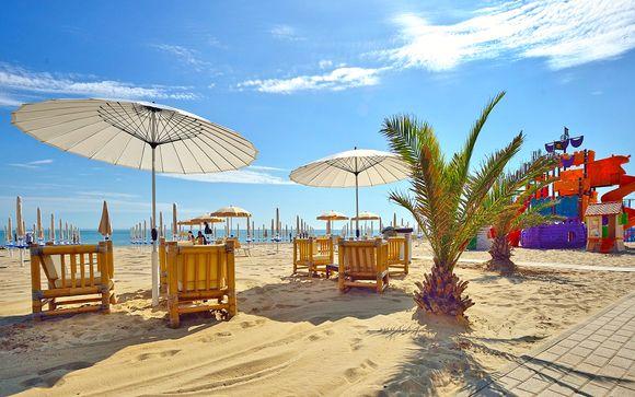Sole, relax e pensione completa sulla Spiaggia di Velluto