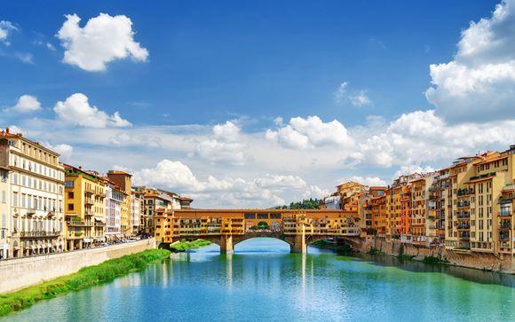 Elegante hotel 4* a pochi passi dall'Arno