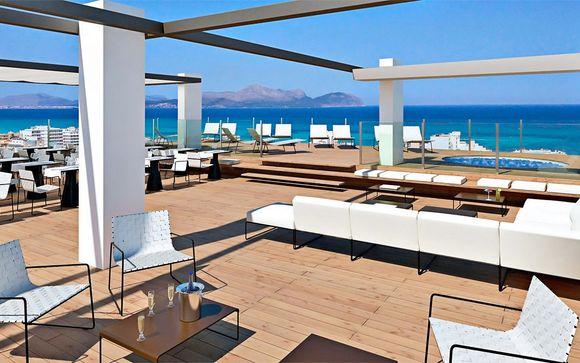 Design 4* plus con vista mare nella baia di Alcudia