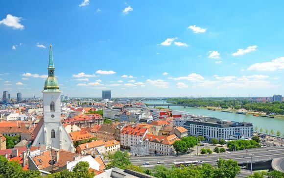 Alla scoperta di Praga, Vienna, Budapest e Bratislava