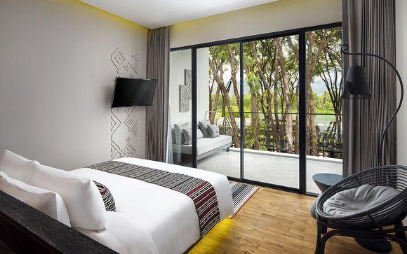 Chiang Mai - X2 Chiang Mai Riverside Resort 4*