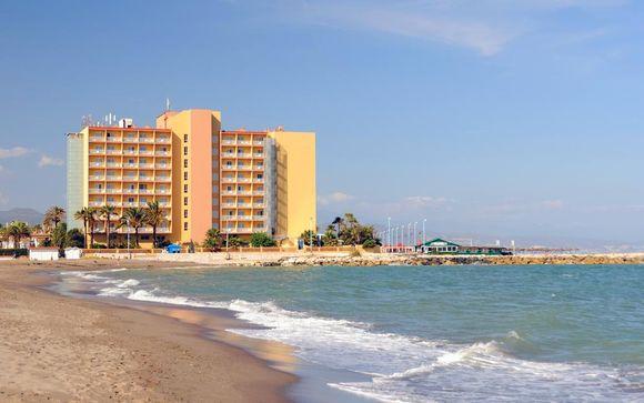 Estensione mare a Malaga - Hotel Sol Guadalmar 4*