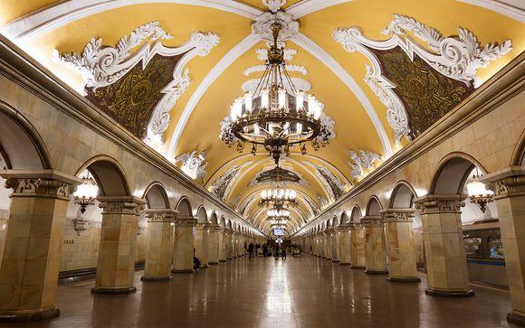 L'itinerario - Mosca e San Pietroburgo