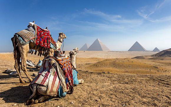 L'itinerario con soggiorno a Il Cairo e crociera sul Nilo (con partenza il venerdì)