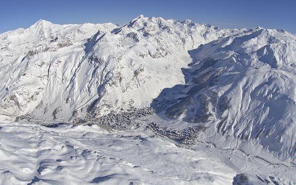 Il comprensorio sciistico di Val d'Isere