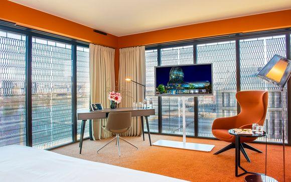 Il Radisson Blu Hotel Bordeaux 5*