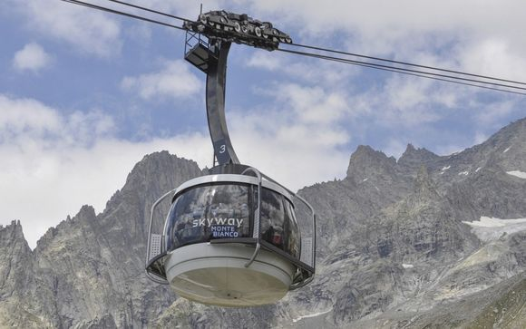 Il comprensorio sciistico Courmayeur Mont Blanc