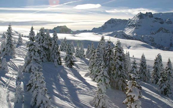 Il comprensorio sciistico Dolomiti Superski