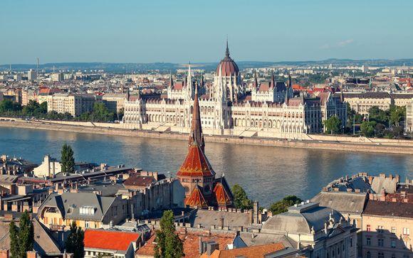 L'itinerario da Vienna a Bucarest per le partenze del 1 agosto