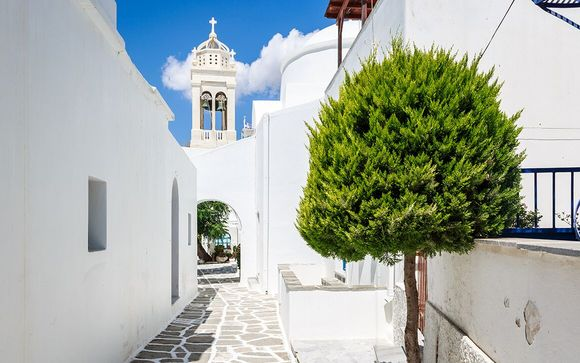 L'itinerario di 8 o 13 notti - estensione a Paros