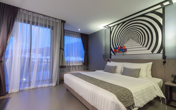 Phuket - Mazi Design Hotel Patong by Kalima