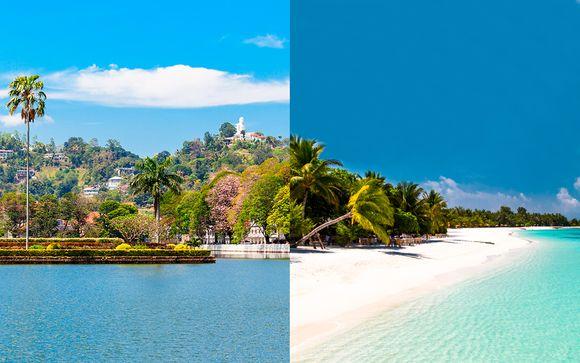 I gioielli dello Sri Lanka in tour + Paradise Island Beach Resort & Spa 5*
