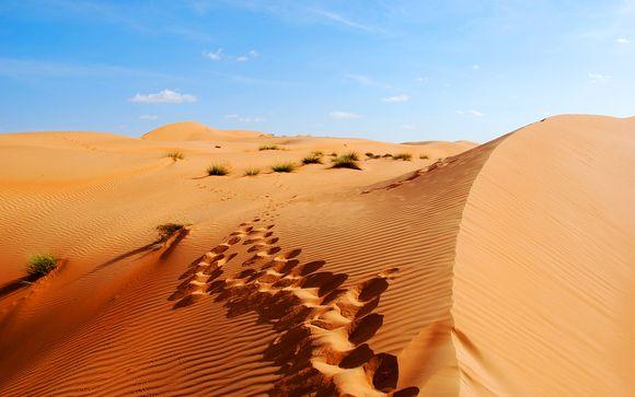 Aggiungi un'opzione al tuo viaggio a Dubai